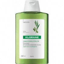 Klorane Champú al Extracto Esencial de Olivo Cabello Con Pérdida de Densidad, 200ml