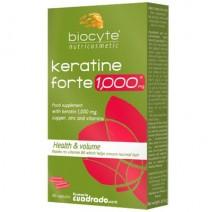 Biocyte Keratine Forte 1000mg , 40 cápsulas