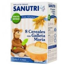Sanutri 8 Cereales con Galletas María 600g