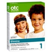 OTC Pack Elimina Loción + Champú Permetrina 1.5 %
