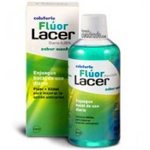 Lacer Junior Colutorio Fluor Diario Menta 500ml