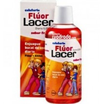 Lacer Junior Colutorio Fluor Diario Fresa 500ml