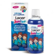 Lacer Junior Colutorio Pre-Cepillado, 500ml