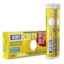 Kin Oro Tabletas Limpiadoras 30 + 30u