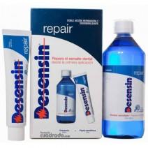 Desensin Repair Pack Colutorio Dientes Sensibles Repara el Esmalte, 500ml+Pasta, 75ml