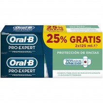 Oral-B Duplo Pro-Expert Pasta Dentífrica Protección Encías, 2x125ml