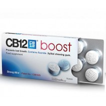 CB12 Boost Chicles sin Azucar Mal Aliento, 10u