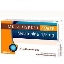 Meladispert Forte Melatonina 1.9mg Liberación Prolongada, 60 comp