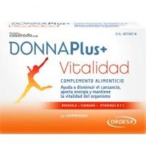 Donna Plus+ Vitalidad Complemento Alimenticio, 30comprimidos