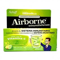 Airborne Inmunodefensas Efervescentes Lima Limón, 10Comprimidos