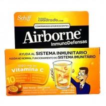 Airborne Inmunodefensas Efervescentes Naranja, 10Comprimidos