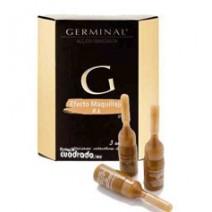 Germinal Ampollas Flash Acción Inmediata Efecto Maquillaje Tono Claro, 3u