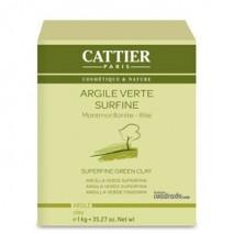 Cattier Mascarilla Arcilla Verde Superfina , 1000g