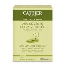 Cattier Mascarilla Arcilla Verde Ultraventilada , 250g