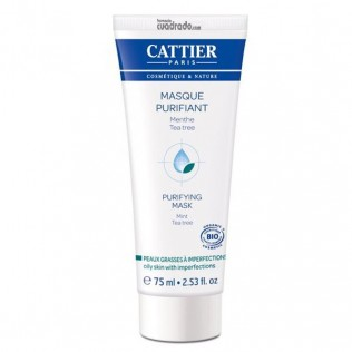 Cattier mascarilla Purificante Arbol de Te, 75ml