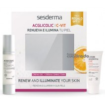 Sesderma PACK Acglicolic10% Classic Forte Gel Crema 50 ml + C-vit CC Cream 30ml