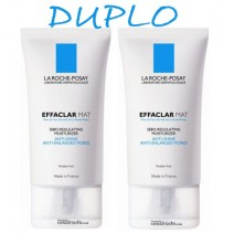 La Roche Posay Duplo Effaclar Mat Antibrillo 2 x 40 ml
