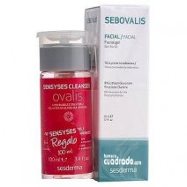 Sesderma Sebovalis Gel Facial 50ml + REGALO Sensyses Ovalis, 100ml