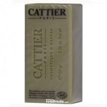 Cattier Jabón Alargil Piel Grasa, pastilla 150g