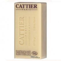 Cattier Jabón Karite Piel Seca y Sensible, pastilla 150g