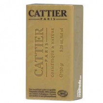 Cattier Jabón Argimiel Piel Normal Mixta, pastilla 150g