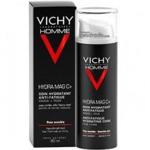 Vichy Homme Crema Hidratante MAG-C Cara y Ojos, 50ml