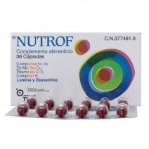 Nutrof , 36 capsulas